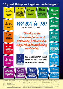 WABA Poster